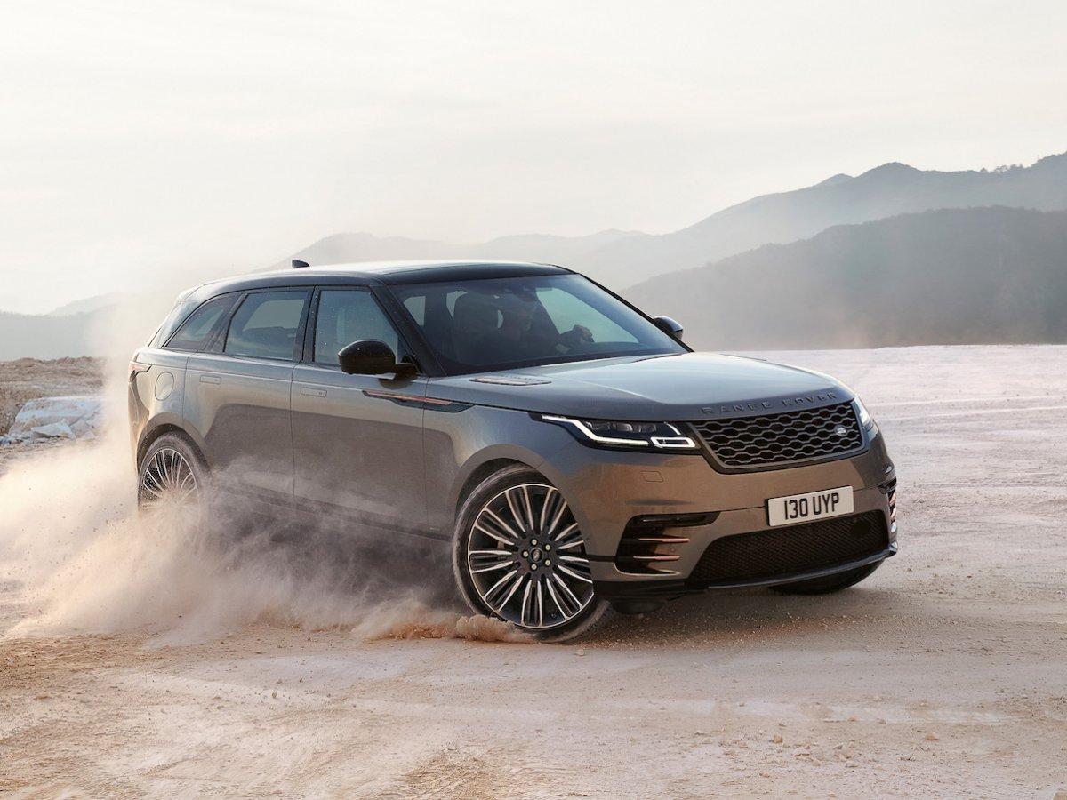 Продажи нового Range Rover Velar стартовали в Российской Федерации