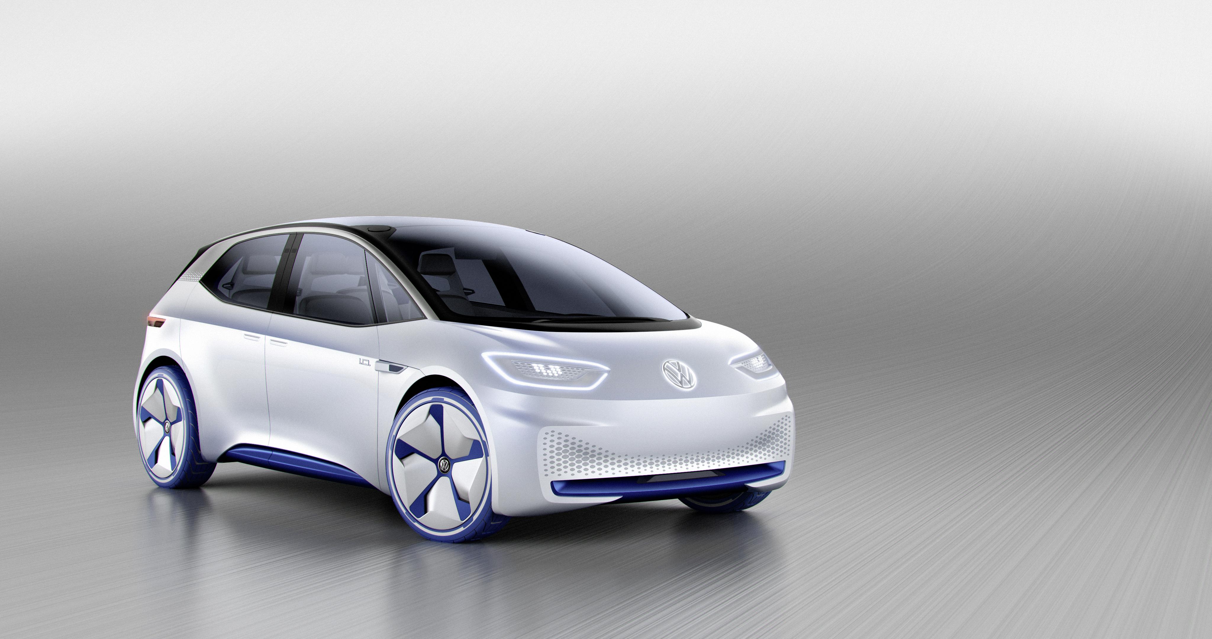 Компания VW показала концепт-кар хэтчбека сэлектродвигателем
