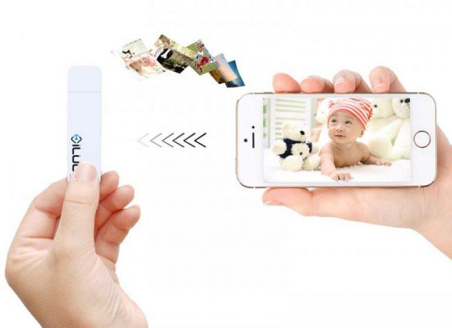 Ученые впервые создали беспроводную флешку для iPhone