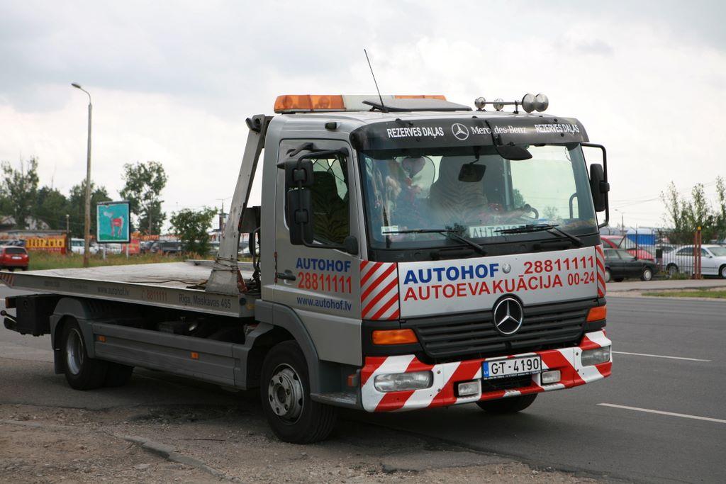 Водители смогут забрать автомобиль дотого, как эвакуатор повезет его наштрафстоянку