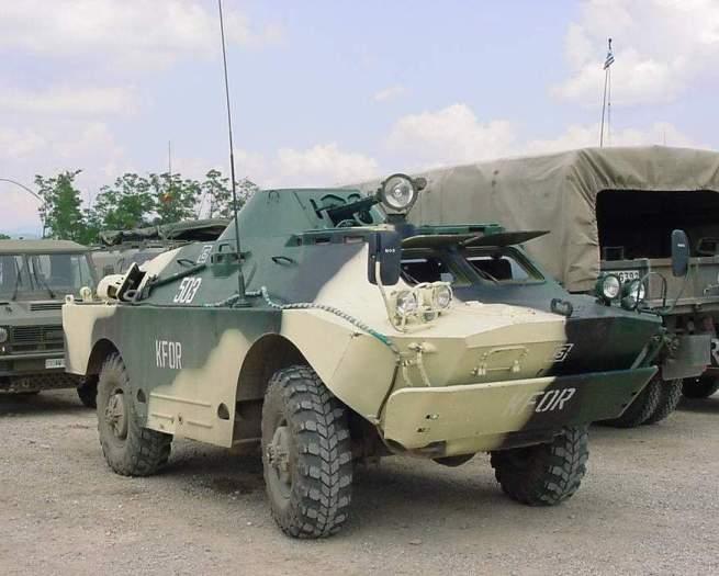 Челябинец продает военный автомобиль БРДМ