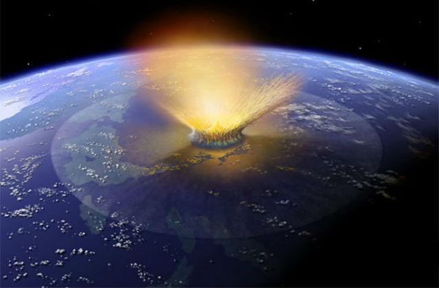 ВСША найдены следы гигантского старинного метеорита