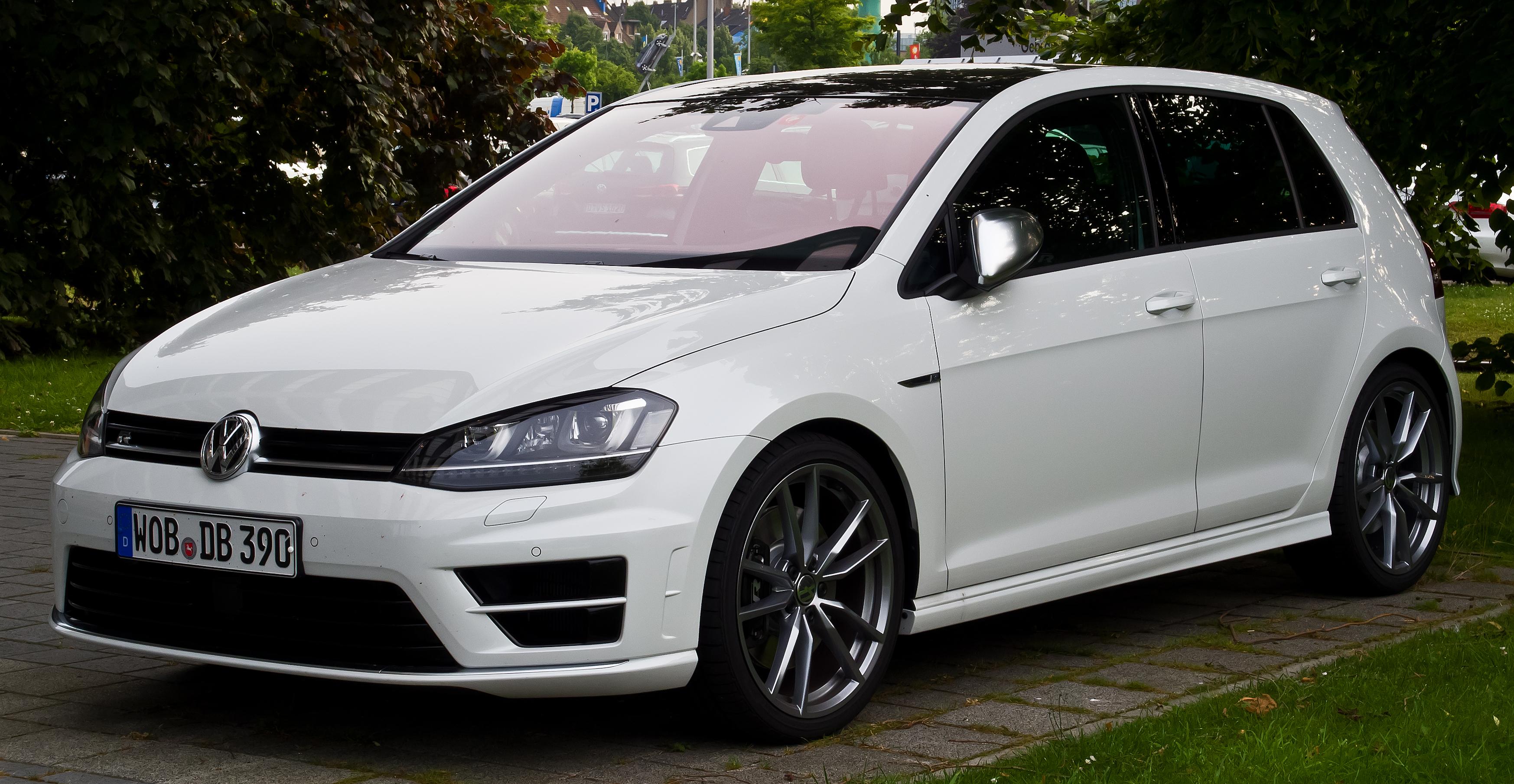 """VW опробует новейшую силовую установку нарестайлинговом Golf"""""""