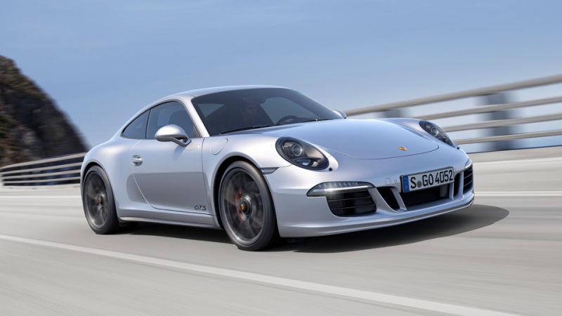 Porshce 911 GTS могут снабдить 6-ступенчатой «механикой»