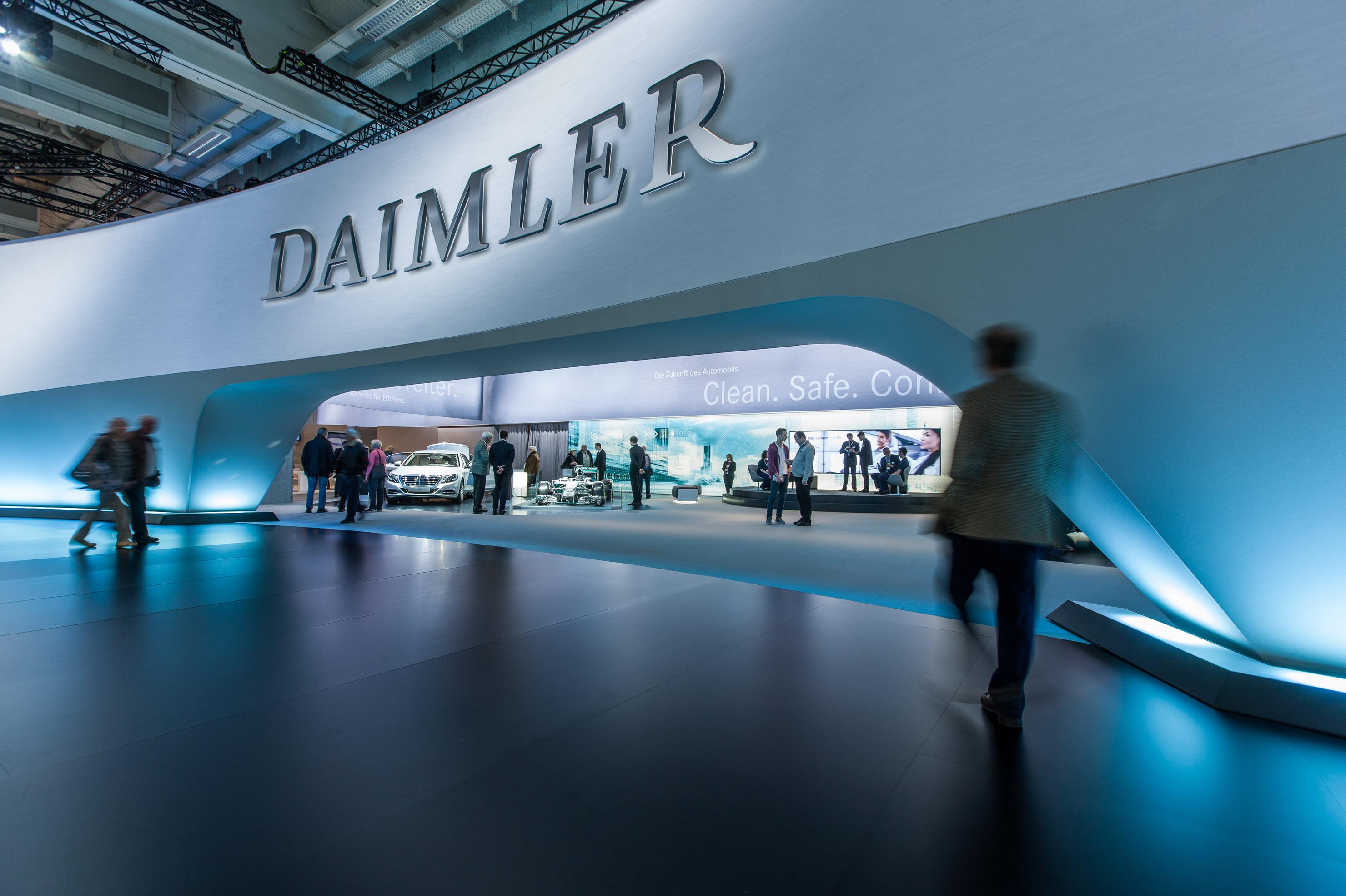 DaimlerAG разделится натри независимых подразделения
