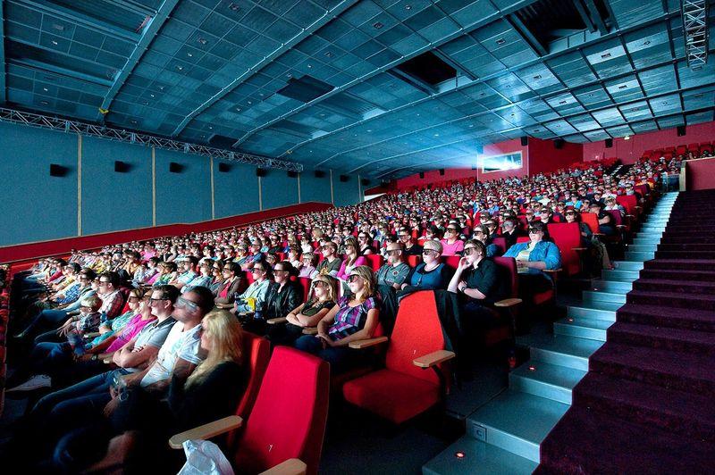 Посещаемость русских кинотеатров всередине сентября увеличилась практически на25%
