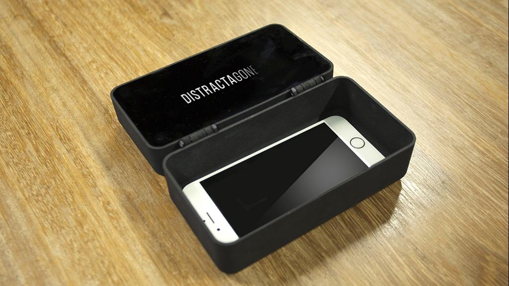 Новое устройство несомненно поможет вборьбе сзависимостью от телефонов