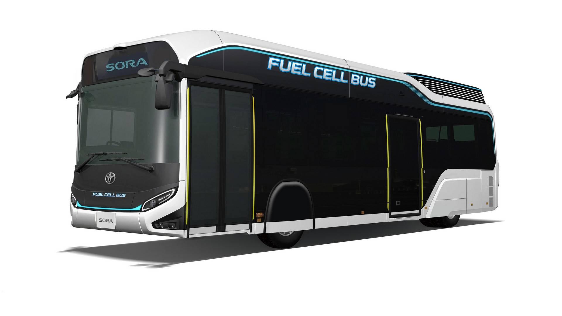 Toyota покажет в Токио водородный автобус Sora