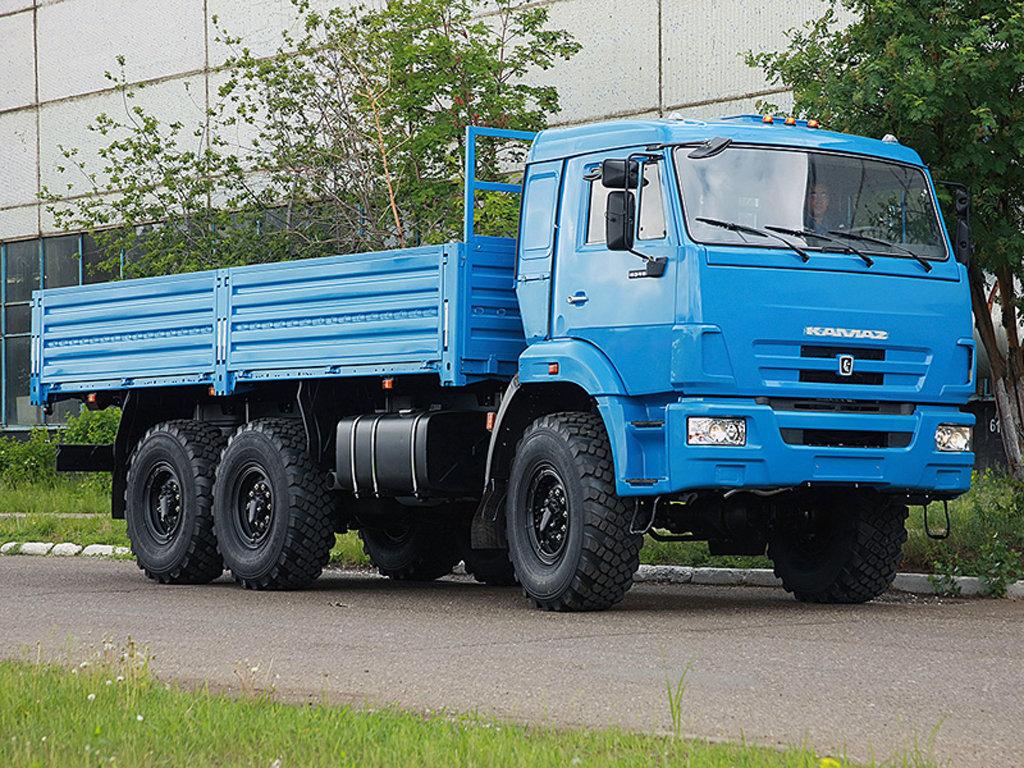 Русский рынок грузовиков вырос на13 процентов