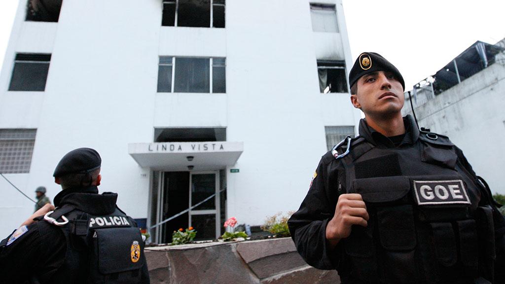 Президент Эквадора сказал обатаках хакеров Anonymous на интернет ресурсы собственной администрации