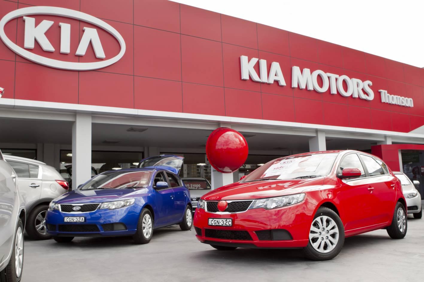 KIA Motors сообщила о новинках в РФ в 2017 году