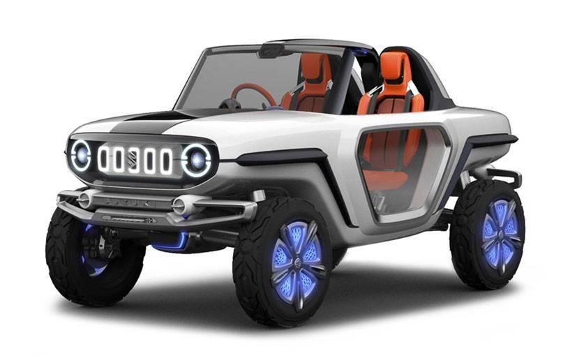 Сузуки показала вТокио вседорожный автомобиль соткрытым верхом