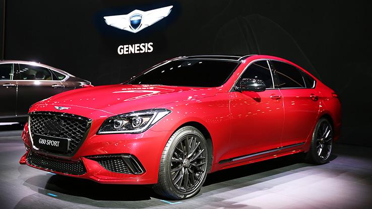 В Корее началась реализация седана Genesis G80 Sport