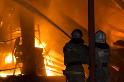 ВСамарской области впожаре умер мужчина