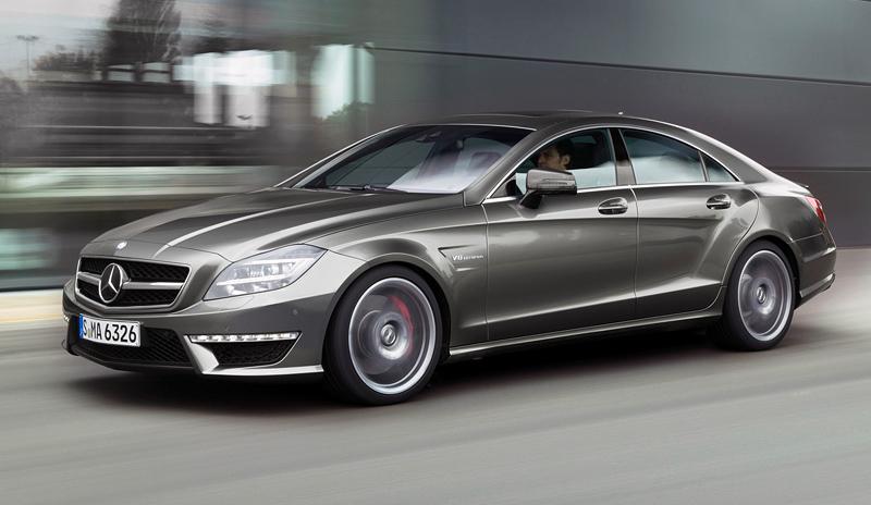 Benz CLS будет соперничать с Порш Panamera