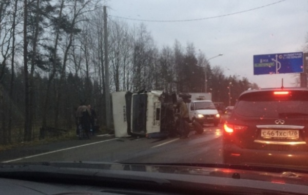 Человек умер вДТП наЗеленогорском шоссе