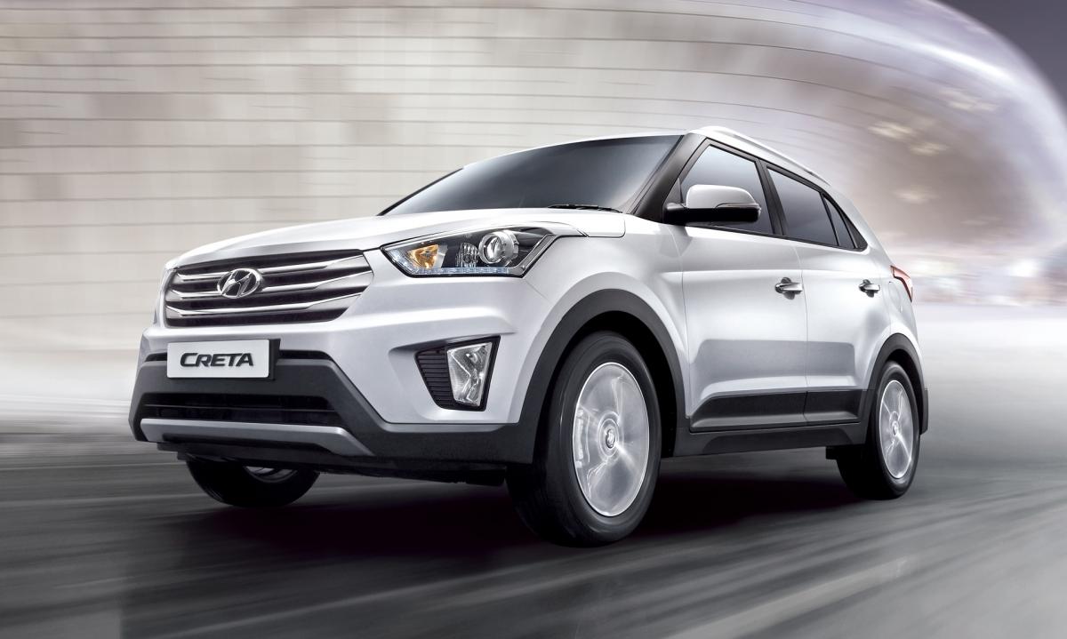 Компания Hyundai установила рекорд продаж модели Creta