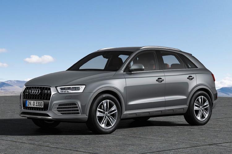 Audi объявила цены наобновленный кроссовер Q3