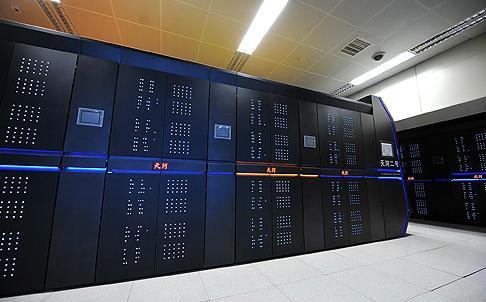 В «Поднебесной» создали самый быстрый суперкомпьютер