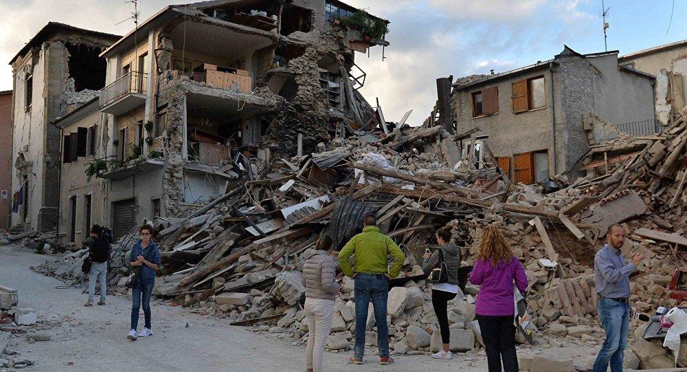 Землетрясение вИталии: Земная кора сдвинулась на70см