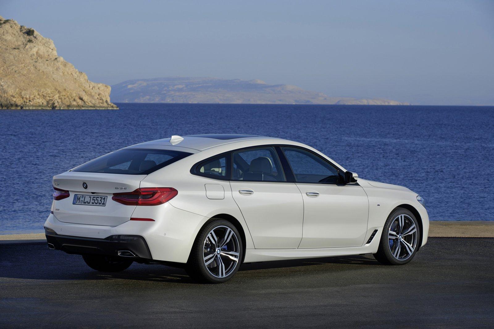 BMW в России начал продажи нового BMW 6 series GT
