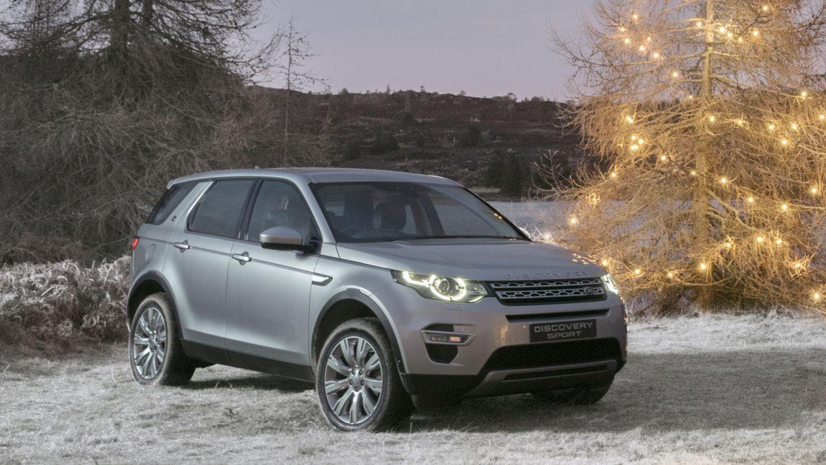 Land Rover Discovery Sport адаптировали к зимним условиям