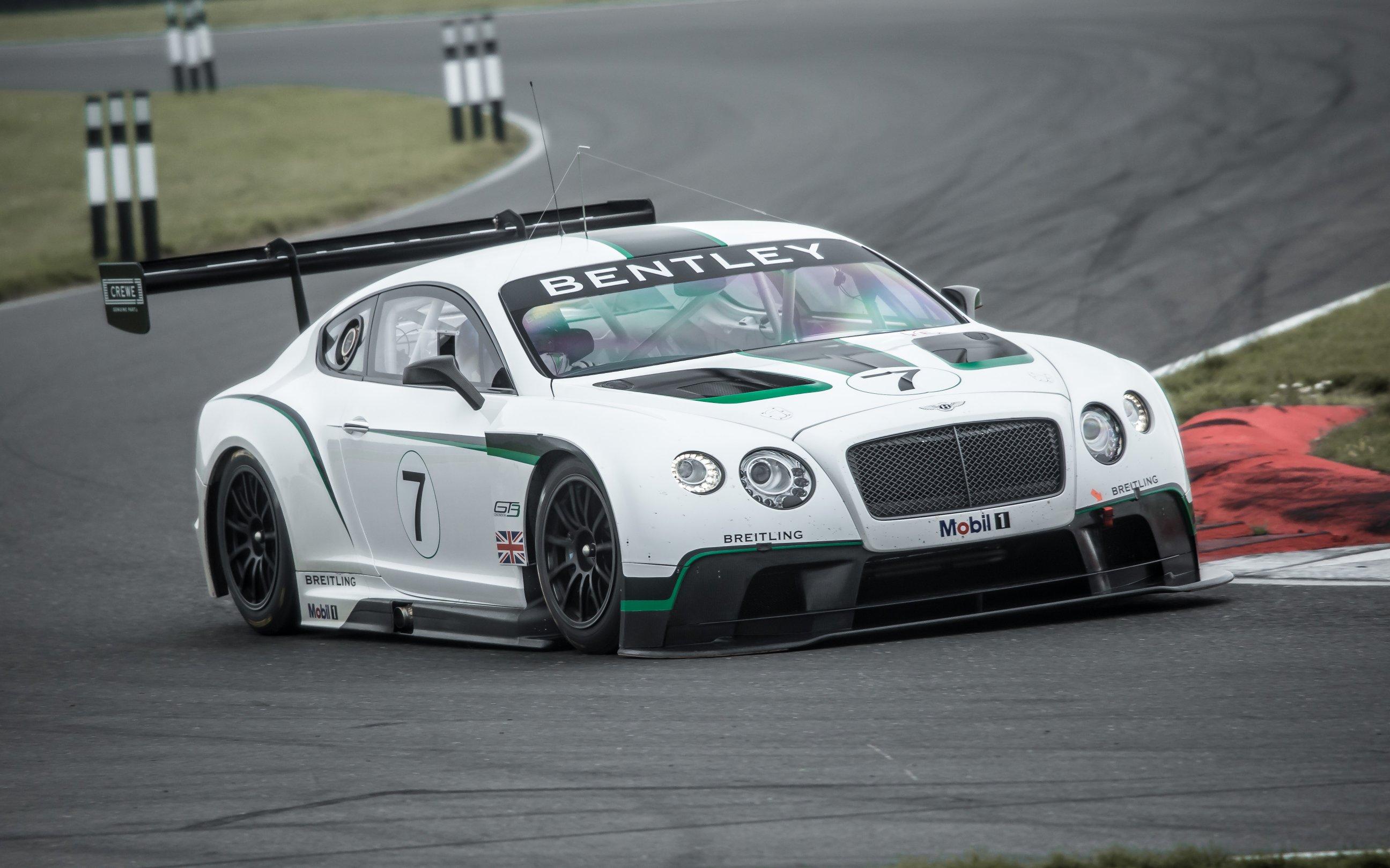 Компания Bentley гоночное купе Continental GT3 нового поколения