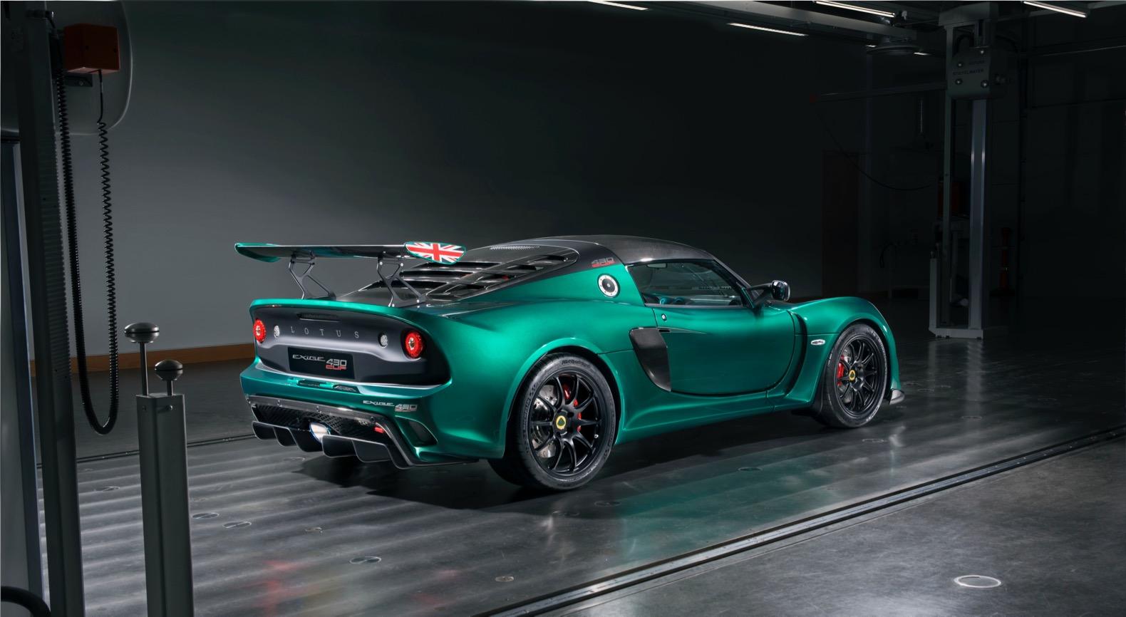 Лотус представил самый экстремальный спорткар Exige завсю историю модели
