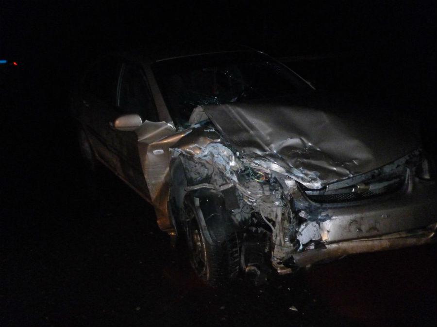 ВПетербурге шофёр «Лады» протаранил несколько дорогих машин