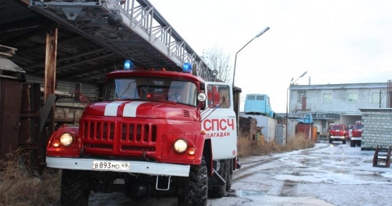 ВМагадане изгоревшей гостиница «Украина» спасены 4 постояльца