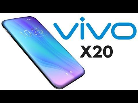 Стартовали продажи Vivo X20 всинем цвете