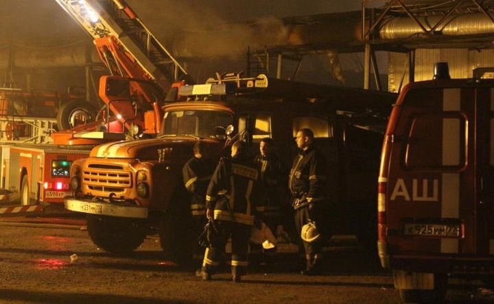 Два человека погибли впожаре вПодмосковье