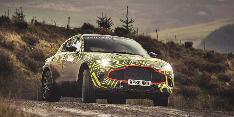 Aston Martin показал прототип кроссовера