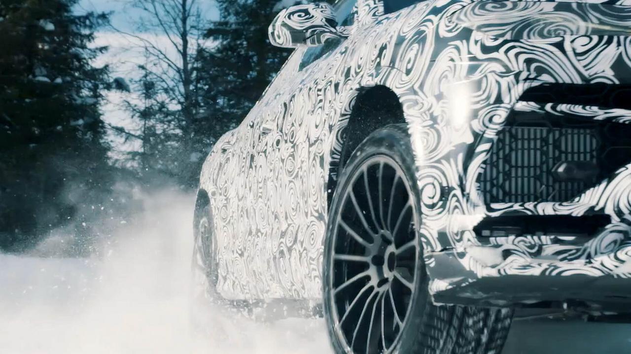 Кроссовер Lamborghini Urus презентовал свои способности наснегу