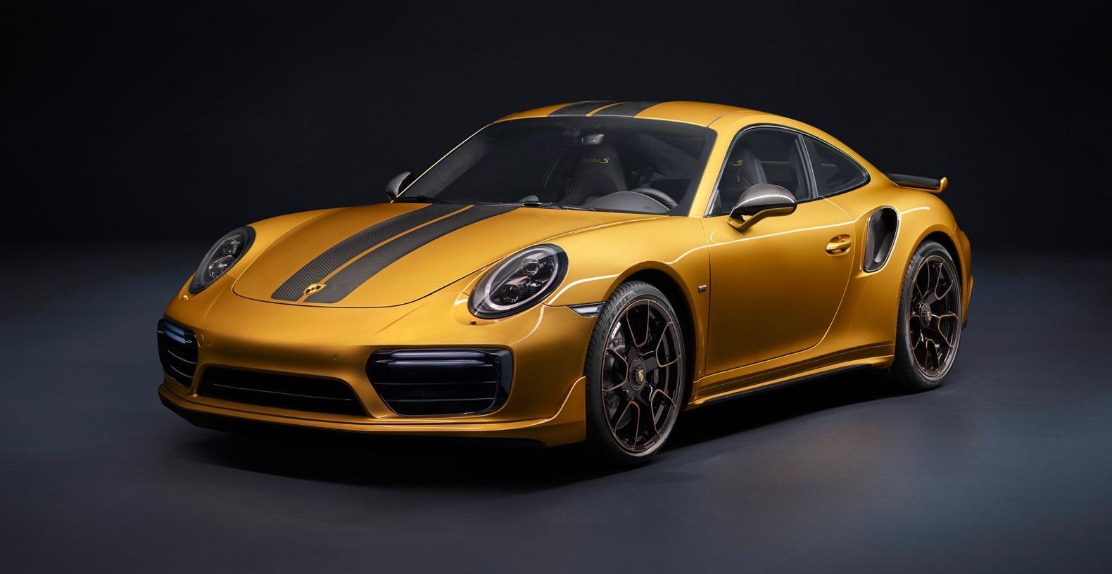 Специалисты  протестировали Порш  911 Turbo SExclusive с607-сильным двигателем