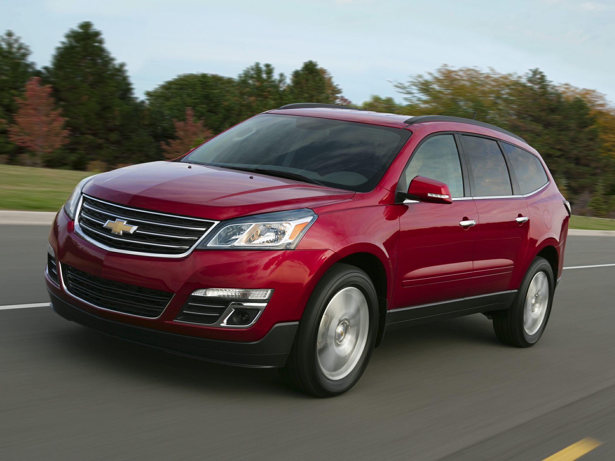 Новый Chevrolet Traverse появится на российском рынке в начале следующего года
