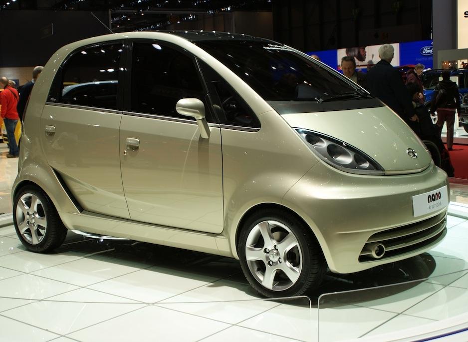 Tata выводит нарынок самый недорогой электромобиль вмире