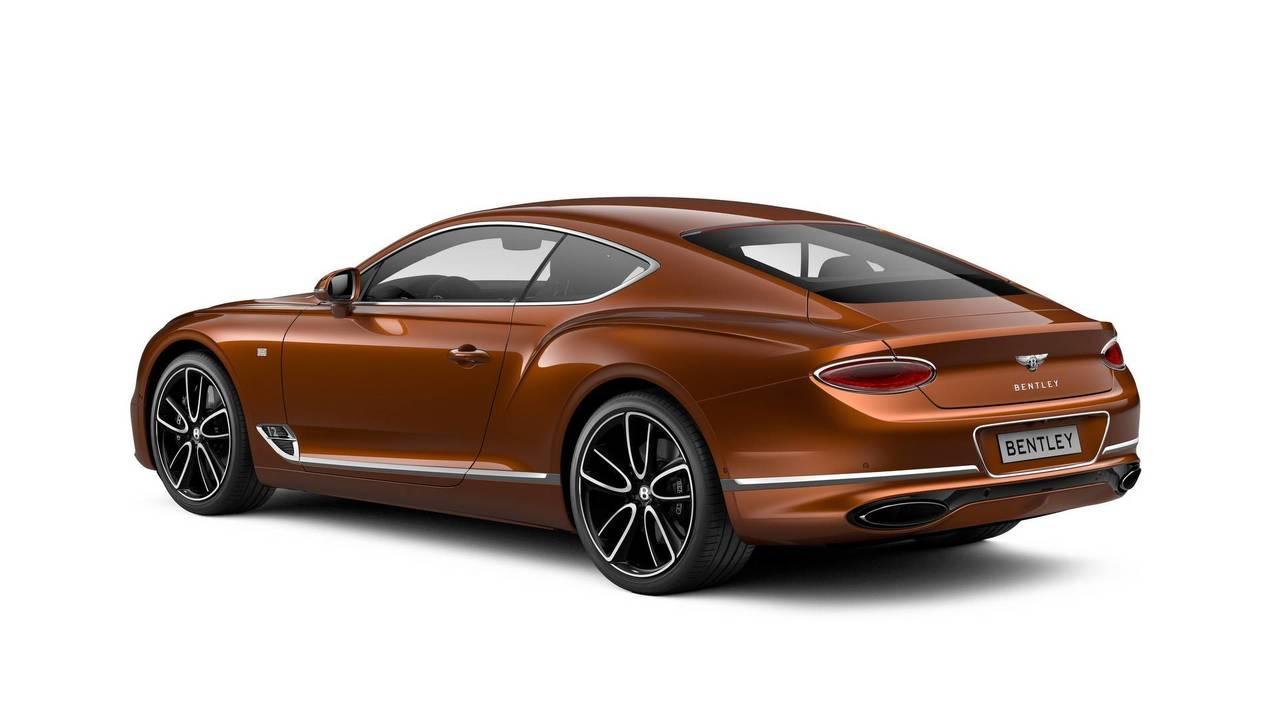 Бентли представила спецверсию купе континенталь GT