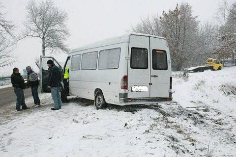 НаДону вДТП смикроавтобусом пострадал один человек