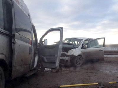 ВАстрахани в трагедии пострадали три пассажира маршрутки