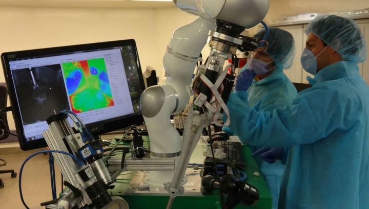 Английские ученые создали робота-хирурга