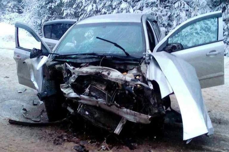 ВДТП с 2-мя иномарками вТверской области пострадали 9 человек