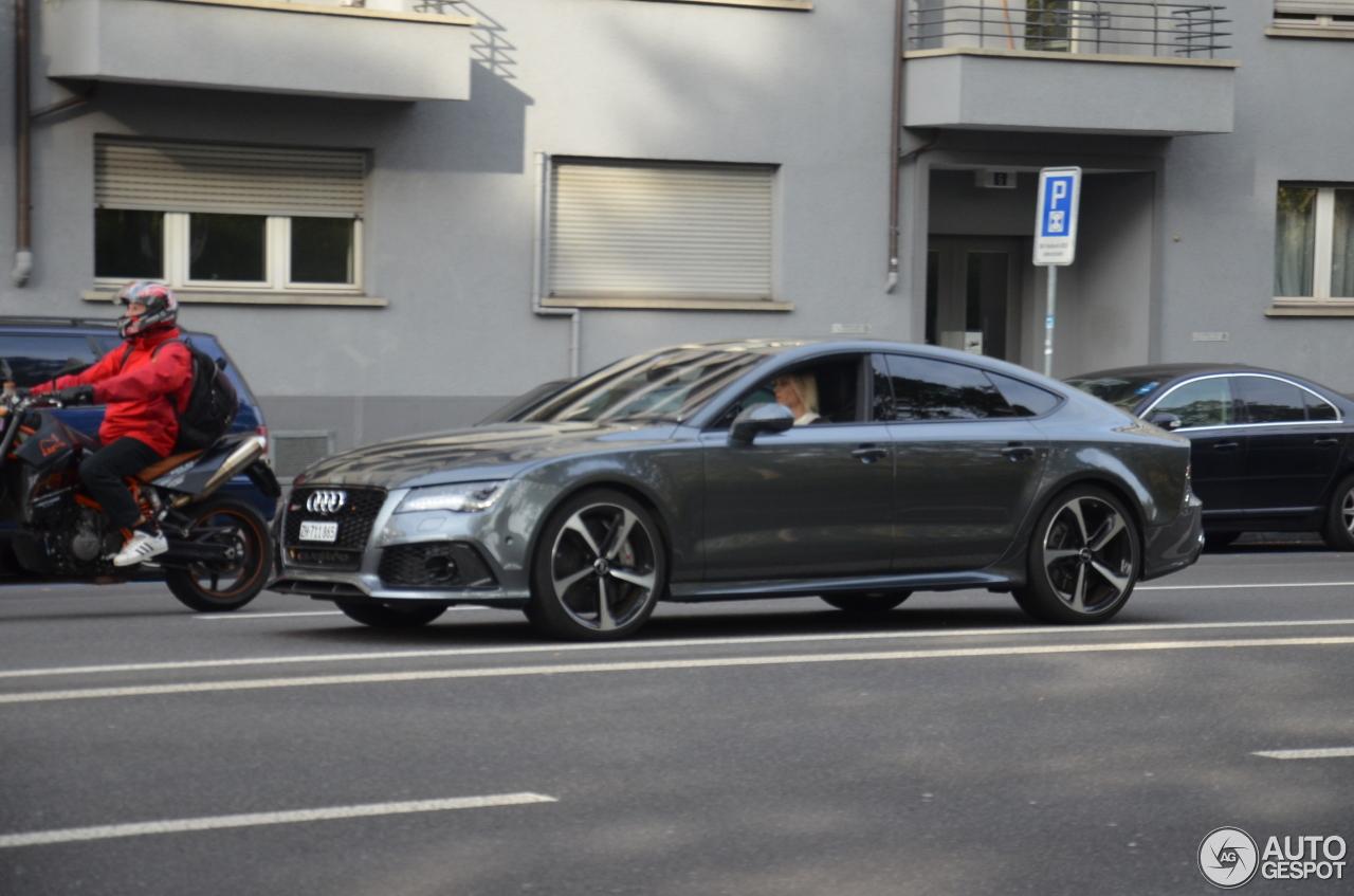Самый мощнейший Ауди RS7 Sportback замечен фотошпионами