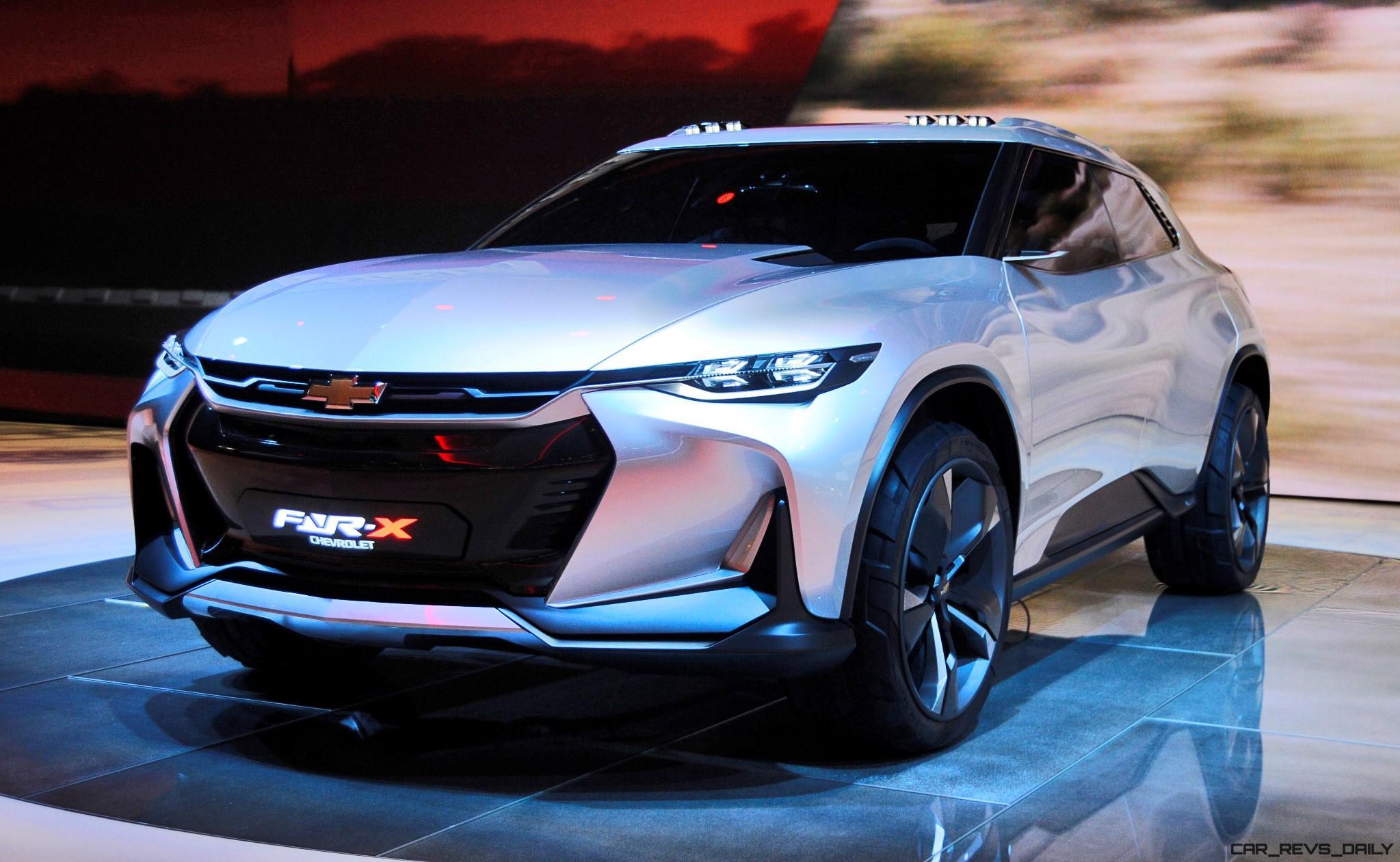 Новый внедорожник Chevrolet замечен на дорожных тестах в Китае