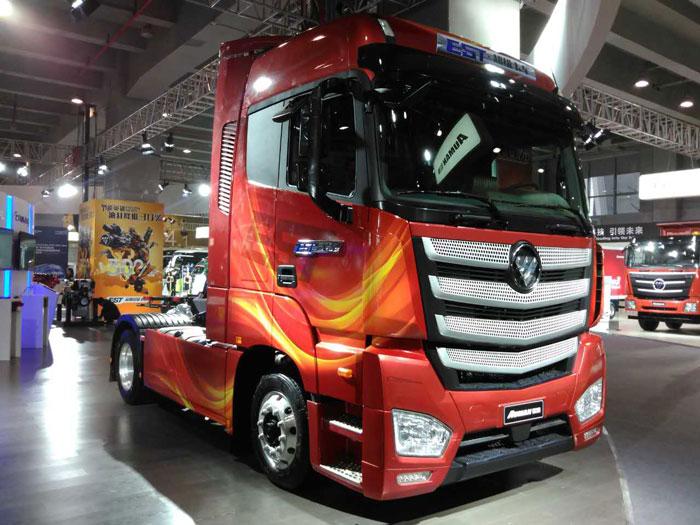 В Российскую Федерацию приехал грузовой автомобиль Foton Auman EST A