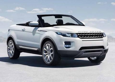 Вгосударстве Украина появился впродаже Range Rover Evoque вкузове кабриолет