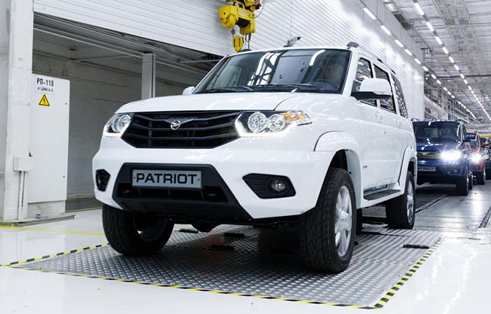 Новые автомобили УАЗ можно приобрести через Интернет