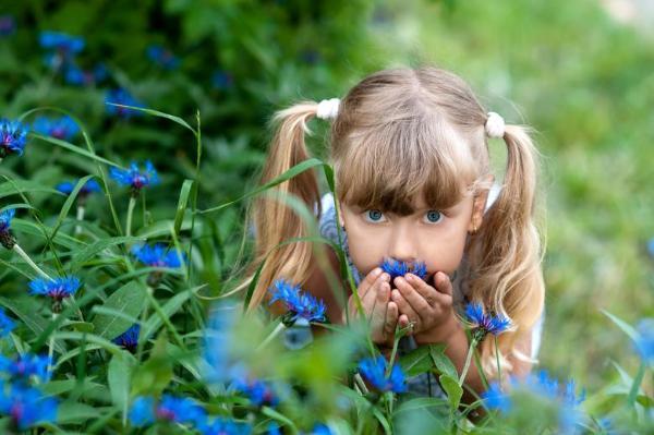 Запах оказывает воздействие наповедение детей ввозрасте старше 5 лет