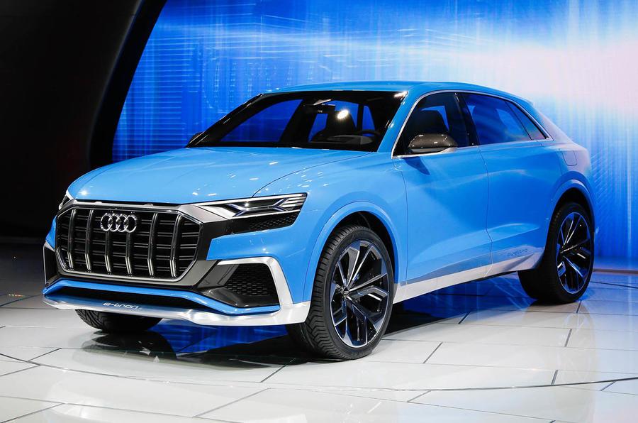 Кроссовер Audi Q8 появится на рынке в России в июле 2018 года