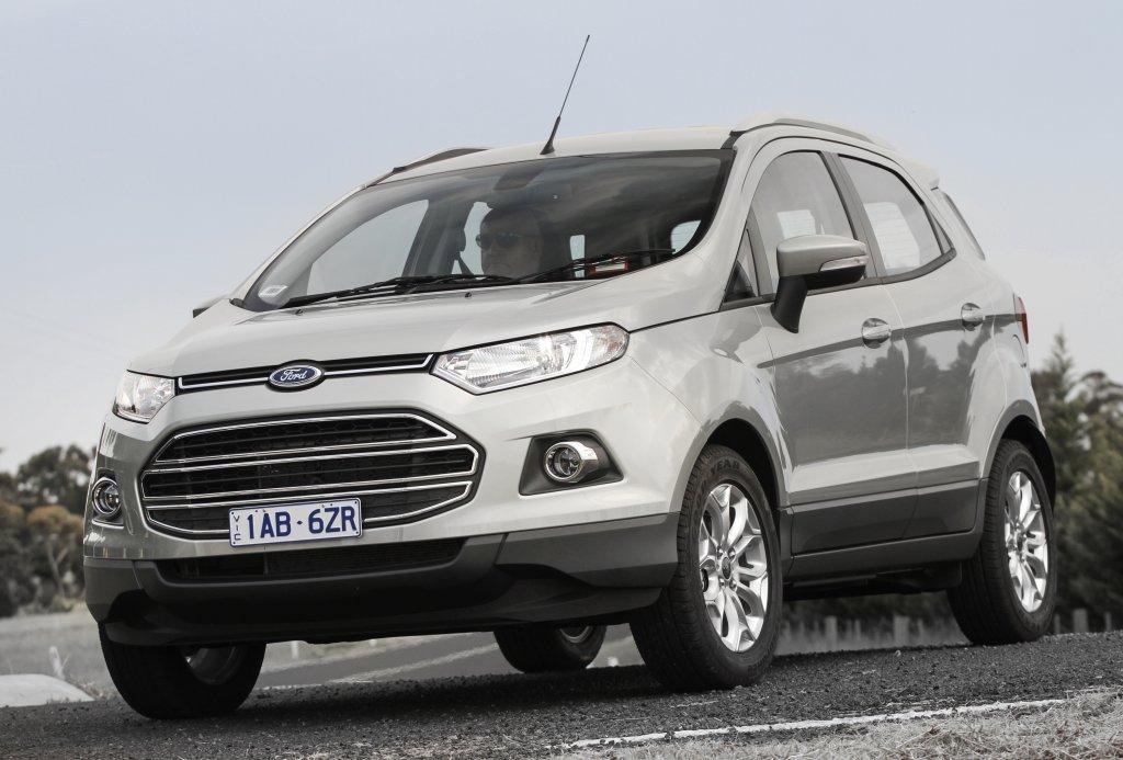 Продажи нового Форд EcoSport начнутся сБразилии
